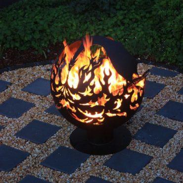 Australian Garden Fireball - Dragon Design