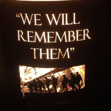 We Will Remember Them - Aussie Fire Bucket