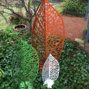 Aussie Garden Leaves Sculpture