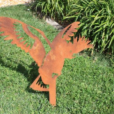 Aussie Steel Garden Bird