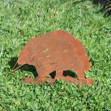 Aussie Steel Garden Animal - Echidna