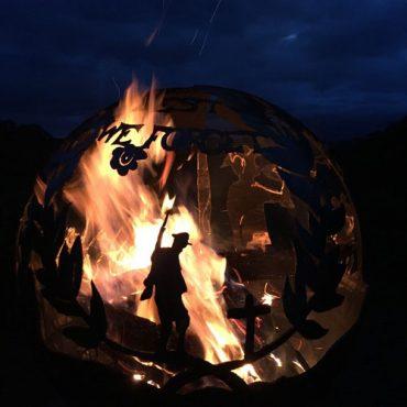 Lest We Forget Garden Fireball