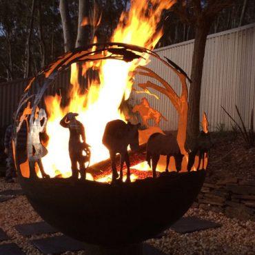 Round-Up Garden Fireball Australia