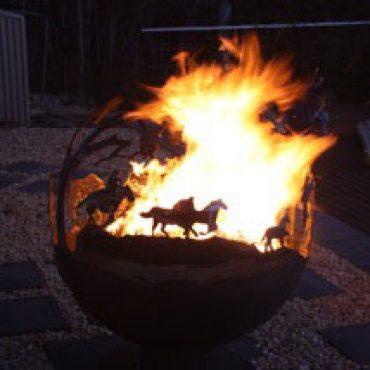 Round-Up Aussie Garden Steel Fireball