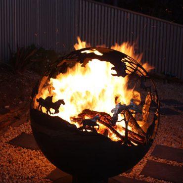 Round-Up Aussie Garden Fireball