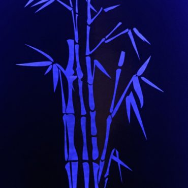 Blue Bamboo - Custom Made Garden Lightbox with LED Lights