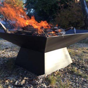 Designer Square Fire Pit Canberra
