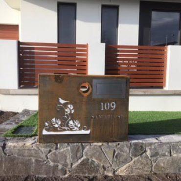 Designer Letter Box Canberra