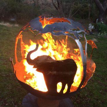 Africa Fireball - Elephant Design Australia