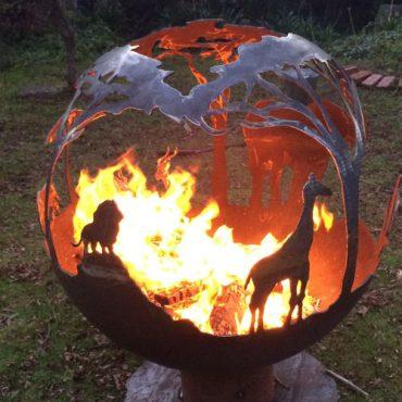 Africa Garden Fireball Design Australia