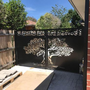 Laser Cut Metal Screens