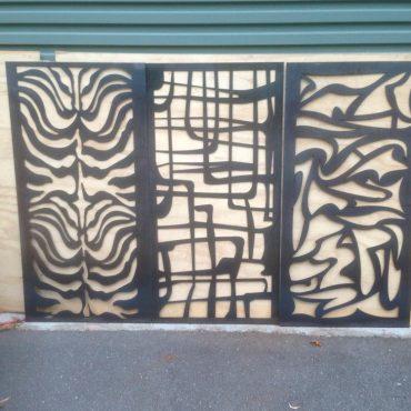 Laser-cut Metal Screens