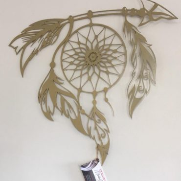 Laser Cut Decorative Metal Sculpture