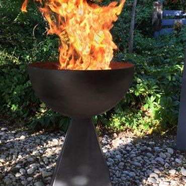Custom Design Fire Goblet - Sheet Metal Fabrication Canberra