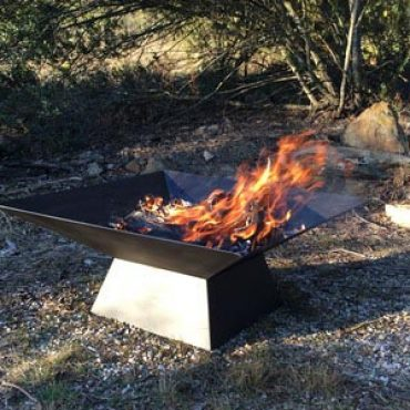 Square Custom Fire Pits Australia