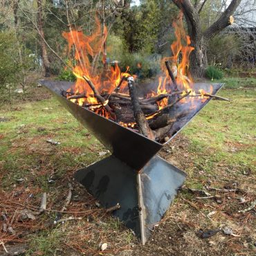 Tall Triangle Fire Pit Canberra
