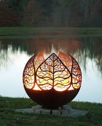 Designer Fire Balls Corten Steel Suppliers Australia